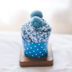 🧁COMING SOON !!🧁 Cupcake Pom Pom Socks